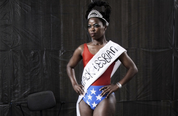 Miss Lesbian I Amsterdam - I Stand Corrected Image by Zanele Muholi